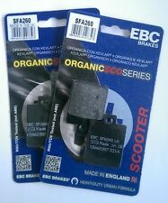 Piaggio MP3 400 (2007 to 2012) EBC Kevlar FRONT Brake Pads (SFA260) (2 Sets)