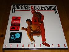 Rob Base & D.J. E-Z Rock - It Takes Two - LP RED Vinyl /// Neu & OVP