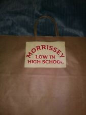 Morrissey shopping bag. Smiths 16 x 12 brown bag.Free Shipping