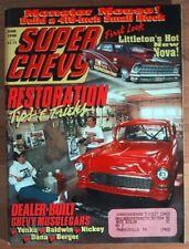 SUPER CHEVY 1990 JUNE - PROTOTYPES, DEALER SUPERCARS