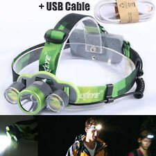 Cycling Bicycle Head Light Rechargeable Headlamp 5000LM CREE XML T6 LED Lamp k