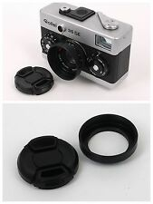 New Lens Cap + Hood for Rollei series 35S 35SE Sonnar 40/2.8 camera