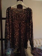 Marks and Spencer Animal Print None Women's Jumpers & Cardigans