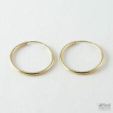 Hook 9 Carat Yellow Gold Fine Earrings