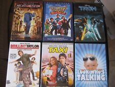 Lot of 10 DVDs * Night and the Museum, Sky High, Tron, Taxi, Herbie Fully Loaded