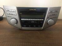 05-08 LEXUS RX Radio 6 Disc Changer MP3 CD Player 86120-0E070
