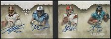 2012 Robert Griffin Wright Weeden Justin Blackmon Topps Five Star Auto 10/10 RC