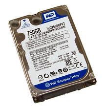 "Western Digital Scorpio Blue WD7500BPVX 750gb 2.5"" Sata Laptop Hard Disc Drive"