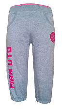 GIRLS 8/9 years MANCHESTER UNITED 3/4 Jog pants Football kids bottoms Tracksuit