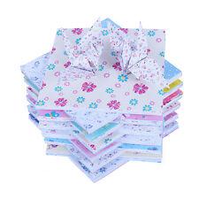 100* 15*15 Cm DIY Blumenmuster Origami Papier Faltpapier Manuelle Faltblätter