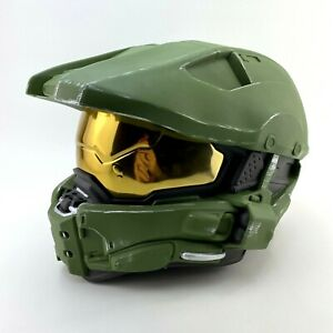 Halo Master Chief Wearable Helmet Full Size 2015 Microsoft Cosplay Costume