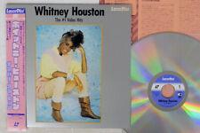 Whitney Houston No.1 Video Hits PIONEER SM048-3101 Japan CAP OBI VINYL LD