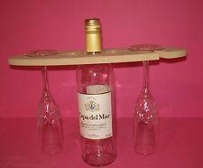 Wine glass bottle  holder craft blank 12mm MDF
