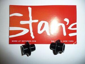 Stans Neo front hub 12mm thru axle conversion kit.