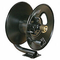 REELCRAFT Hose Reel,Hand Crank,3/8 In ID x 50 Ft, CT6050HN, Black