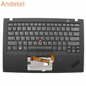 New Ori Lenovo ThinkPad X1 Carbon 6th 20KH 20KG 2018 Palmrest US Keyboard FPR