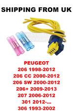 POMPA Carburante Cavi Plug Kit Di Riparazione Peugeot 206 CC SW 206+ 207 301 306 8201348602