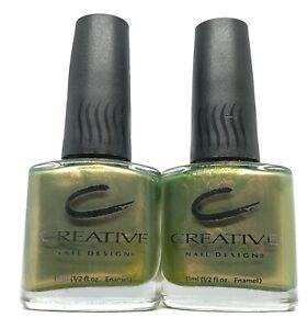 original CND nail polish okey dokey artichokie 340 dollar bill green lacquer