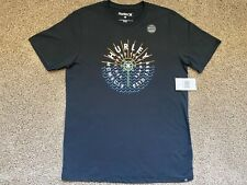 $32 BRAND NEW HURLEY MENS TEE T SHIRT NIKE DRI FIT SURROUNDER SS DF MEDIUM M