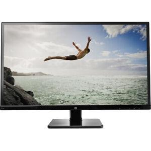 "HP 27SV 27"" HD 1080p IPS LED Back-Lit Monitor DVI HDMI 1920 x 1080 60 Hz Black"