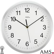 XL AMS 50 Wall Clock RC Radio Controlled Office Kitchen Study Room 178