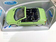 Model Peugeot cabrio 206 cc WELLY 1:43