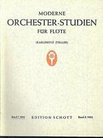 Karlheinz Zöller ~ Moderne Orchester-Studien für Flöte - Band 1