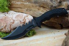 Jagd Bowie Messer Hunter Survival Knife Jagdmesser 440c Stahl