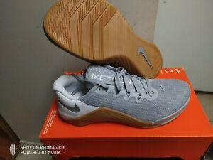 Men's Nike Metcon 5 Wolf Grey/White-Gum AQ1189-019 Size 8/14