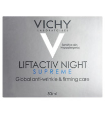 Vichy LiftActiv SUPREME Night Cream Anti-Wrinkle Face Moisturiser 1x50ml NEW
