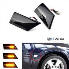 Dynamische LED Seitenblinker für Opel Vectra C Signum 02-08 Schwarze