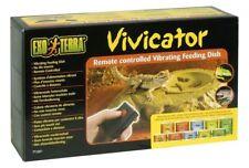 New listing Exo Terra Vivicator Vibrating Reptile Terrarium Feeding Dish & Remote