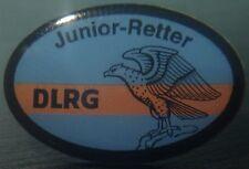 ✚2527✚ German Lifeguard Association badge post WW2 DLRG Junior Retter Abzeichen