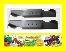 2 Mäher Messer für Diana Rasentraktor T 81 135B452D621 (1995)