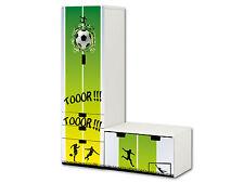 Fußball Aufkleber passend für STUVA Kombi (L-Form) von IKEA - SL08