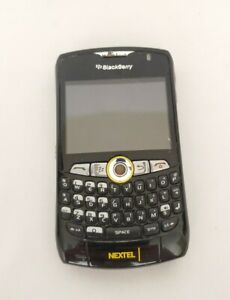 NEXTEL Blackberry Curve 8350i Smartphone - Black Sprint FOR PARTS OR WIFI