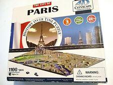 City of Paris 4D Cityscape History Over Time 1100 Piece Jigsaw Puzzle