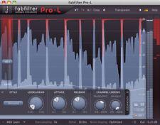 NEW Fab Filter Pro L 2 True Peak Limiter Surround Sound Effects Cubase Plug In