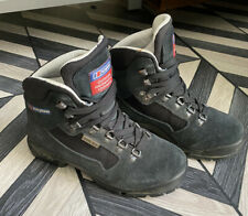 Ladies Berghaus Black Storm Gortex suede waterproof hiking boots size Uk 3 eu 36