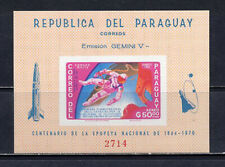 Paraguay Stamps # 918a Imperf Souvenir Sheet Xf Mnh