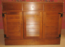 "Ethan Allen 40"" Shutter Base Heirloom Maple Custom Room Plan CRP 10 4553"