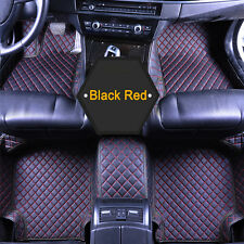 Fits Honda civic 2006-2011 Yes 7 Colors Leather Solid Carpet Auto Floor Mat Y2R3
