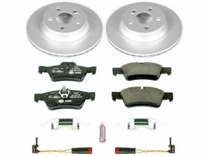 For 2006-2009 Mercedes E350 Brake Pad and Rotor Kit Rear Power Stop 38969QP 2007