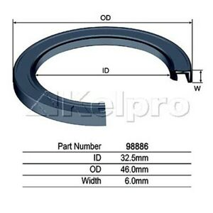 Kelpro Oil Seal 98886 fits Toyota Dyna 150 2.8 D