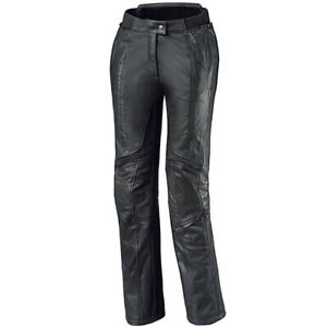 Held Ladies Lena Leather Motorcycle Motorbike Pants Trousers Jeans - Black