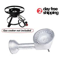 High Pressure Cast Iron Propane Gas Replacement Burner Head Cooking Camping