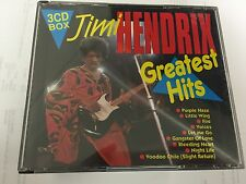 Jimi Hendrix - Greatest Hits  RARE 3 CD BOX INC FINAL PERFORMANCE