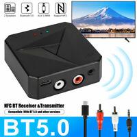 Bluetooth 5.0 Support NFC USB Adapter NFC Receiver Audio Music Wireless Adapter