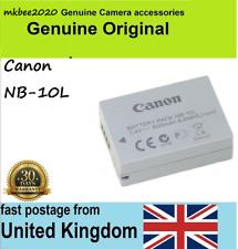 Genuine Original Canon NB-10L Battery Powershot G15 G16 SX50 SX60 HS,G1X G3X MK1