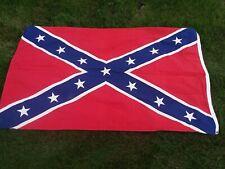New listing Vintage Mississippi Flag approx 3'x5' Us Rebel Flag cotton vintage